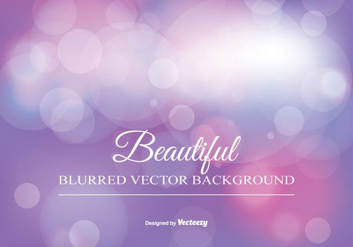 Beauitiful verschwommen Bokeh Hintergrund vektor