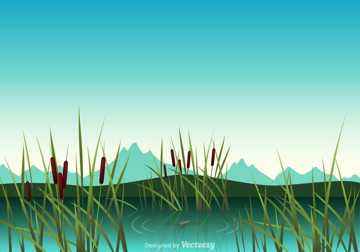 Free Swamp Vektor-Illustration vektor