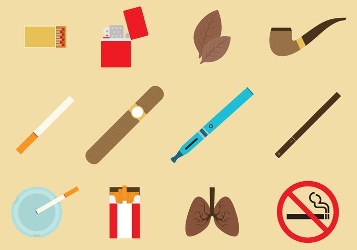 Tobak Ikonvektorer vektor