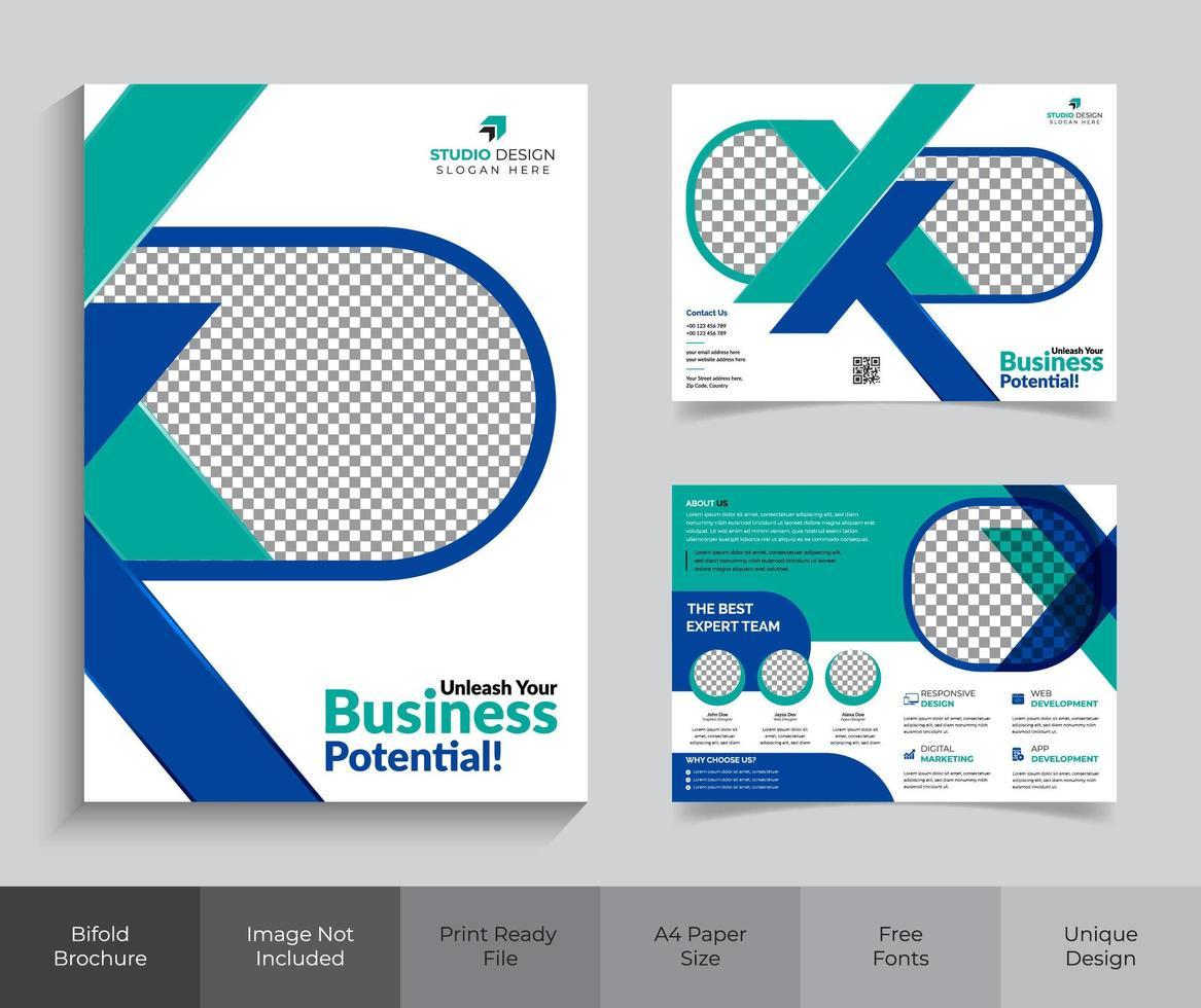 Corporate Business Briefpapier Kit vektor