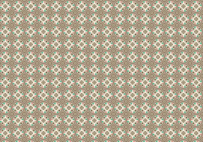 Kreise Muster Vektor