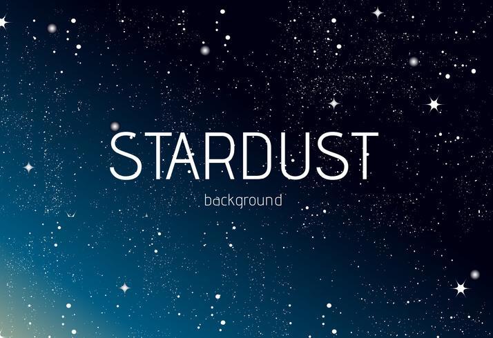 Stardust Vektor Hintergrund