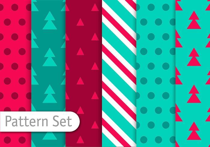 Weihnachten Dekorative Muster vektor