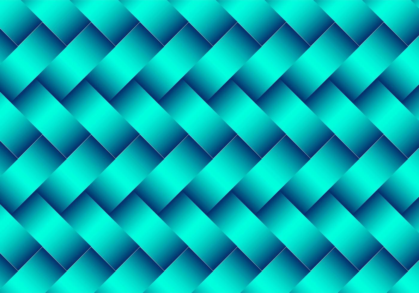 modernes grünes 3d metallisches gewebtes Muster vektor