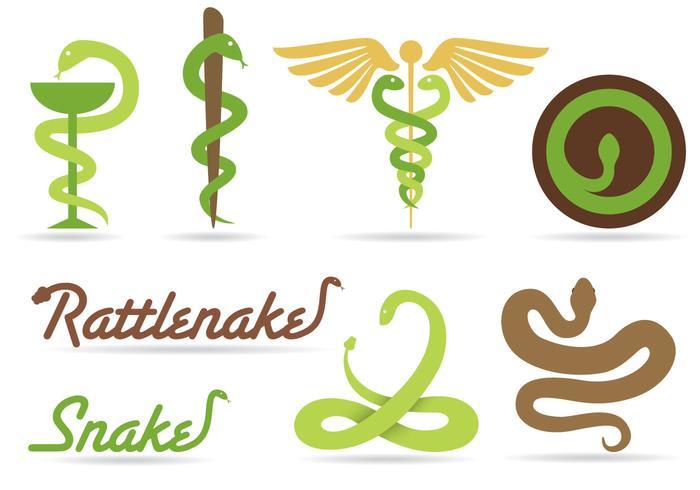 Schlange Logo Vektoren