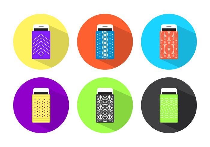 Telefon Fall Vektor-Design vektor