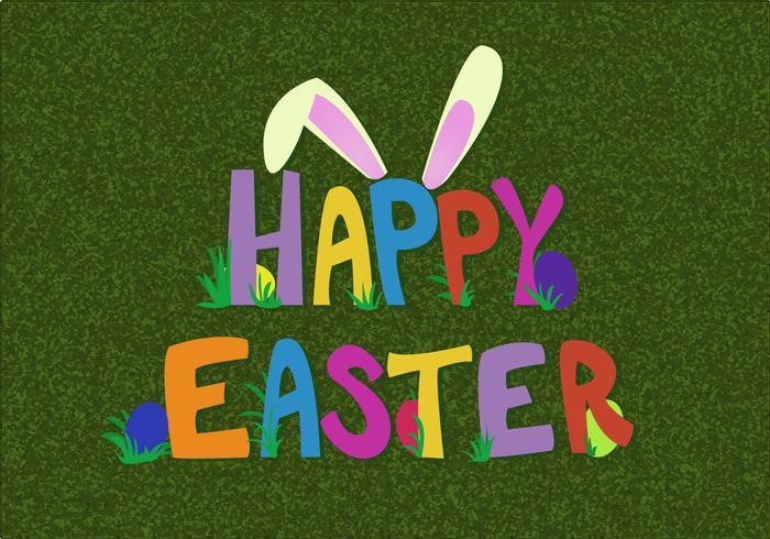 Free Happy Ostern Vektor