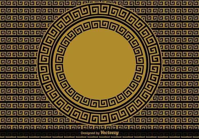 Griechisch Schlüssel Vektor Hintergrund