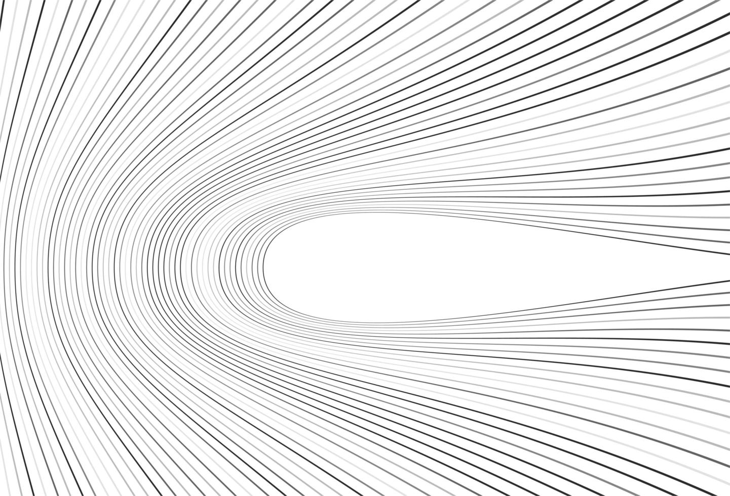 modernes graues gefaltetes Linienmuster vektor