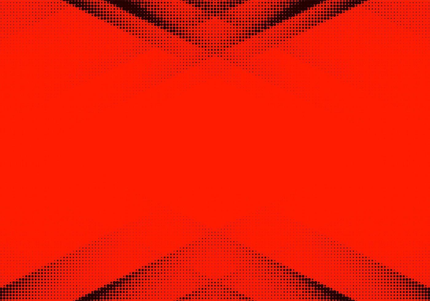 abstrakter roter und schwarzer gepunkteter Hintergrund vektor