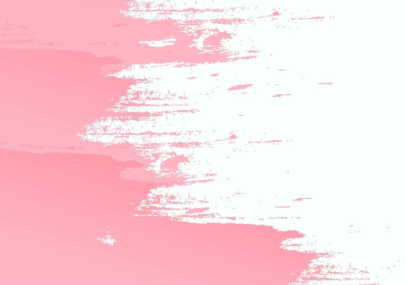 rosa Pinselstrich Textur vektor