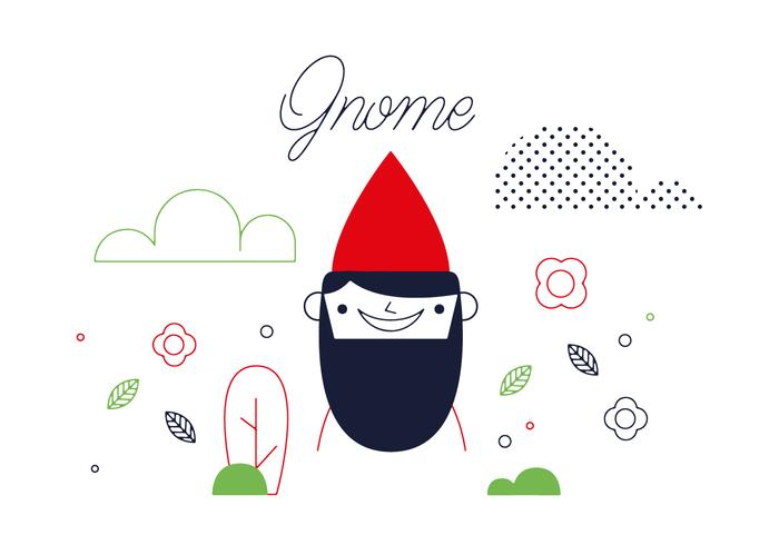Freier Gnome Vektor