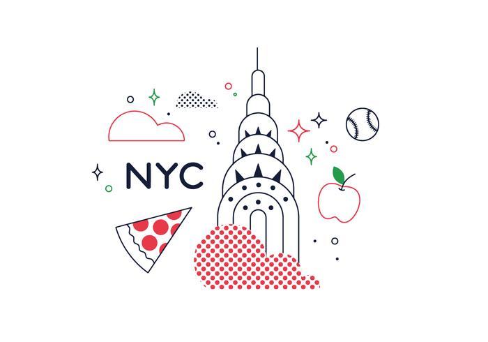 Gratis New York Vector