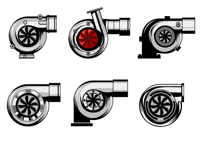 Freier Turbolader-Vektor vektor