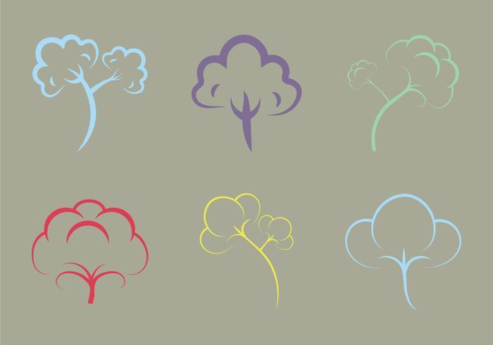 Gratis Bomull Växt Vektor Illustration