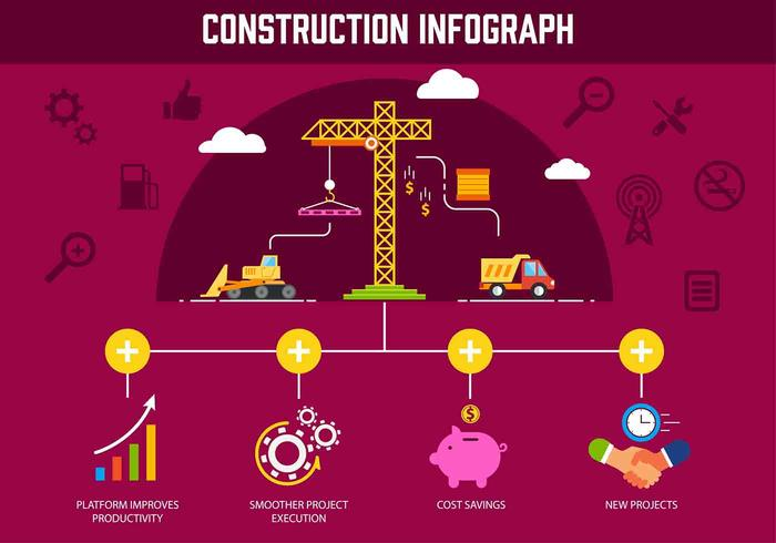 Free Vector Construction Elemente