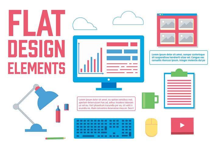 Kostenlose Vektor-Web-Design-Icons vektor