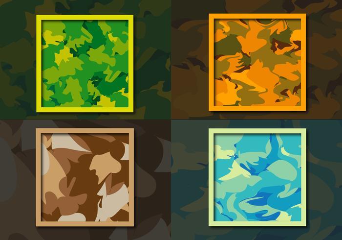 Multicam Camouflage Muster Hintergrund vektor