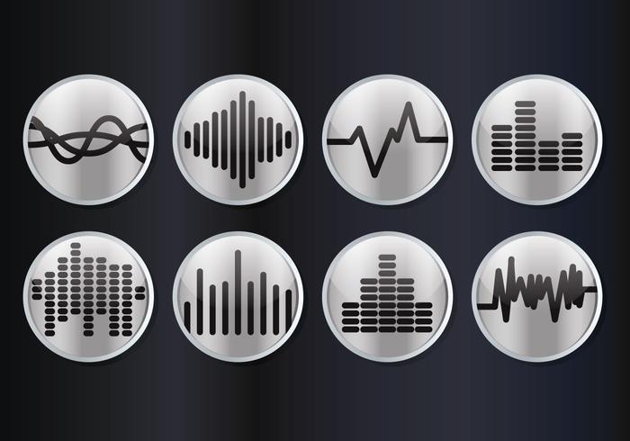 Ljudstänger vektor