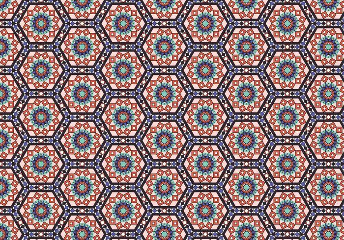 Diamant-Mosaik-Muster Hintergrund vektor