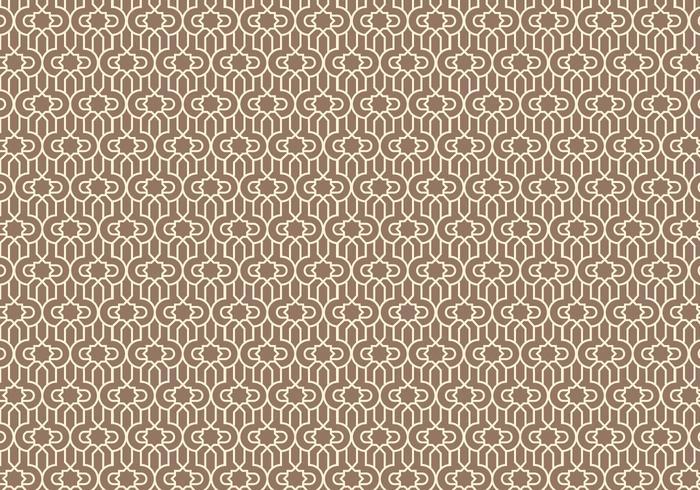 Umrissenen Arabischen Muster Hintergrund vektor