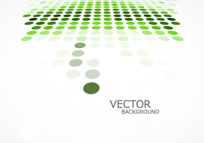 Grön prickad bakgrund vektor