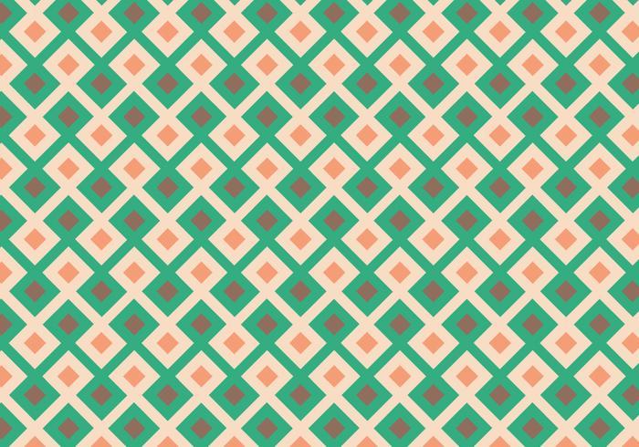 Squared Geometric Pattern vektor