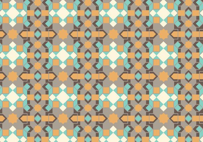 Geometrisk pastellmönster vektor