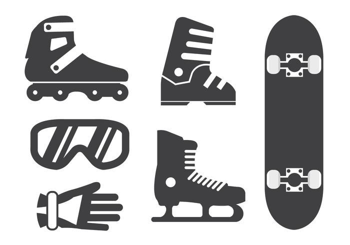 Sport Ausrüstung Vektoren