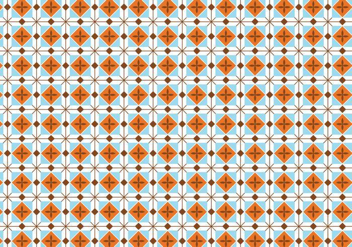 Platz Pastell Muster Hintergrund vektor