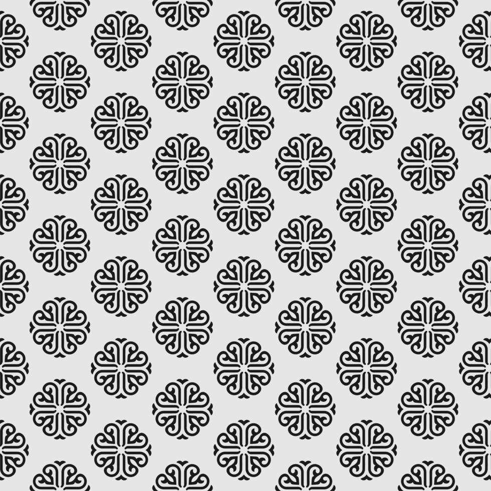 nahtloses Muster im Mandala-Stil vektor