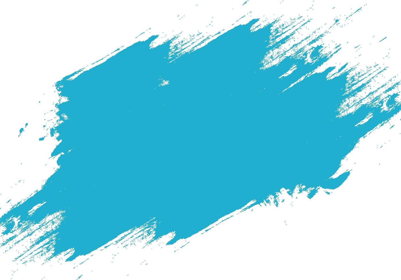 moderne blaue Grunge Pinselstrich Textur vektor