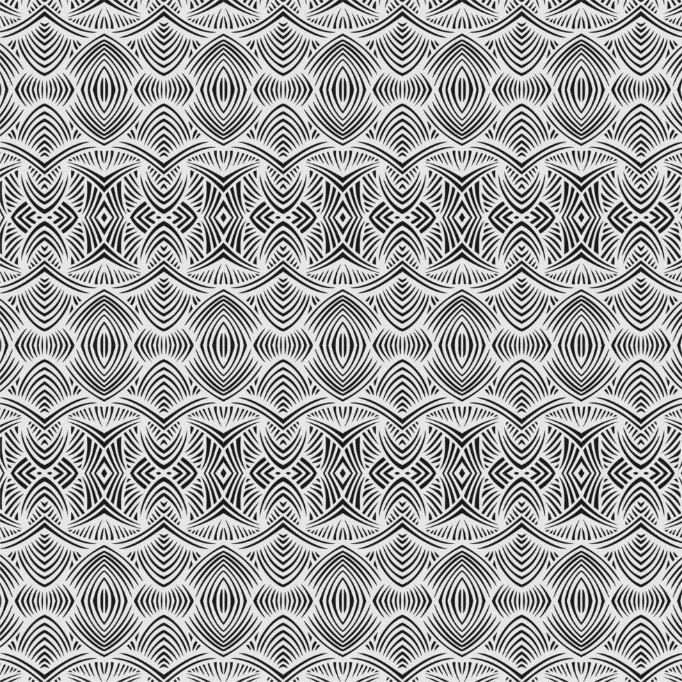 monokrom illusion sömlösa mönster vektor