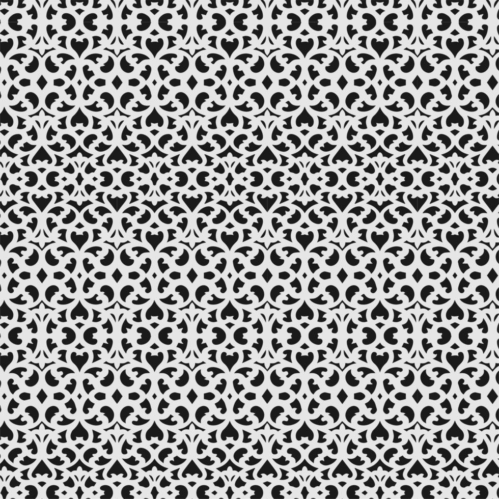 interlocking filigran sömlösa mönster vektor