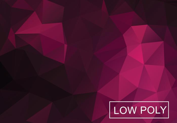 Niedriger Poly-Hintergrund-Vektor vektor