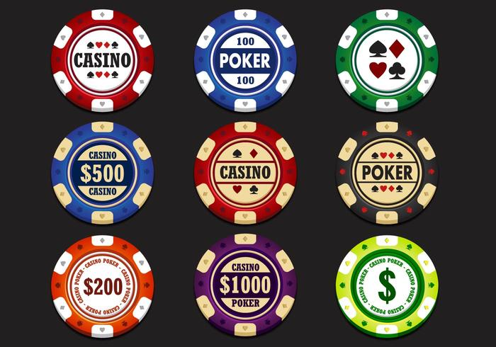 Casino Chip Vektor