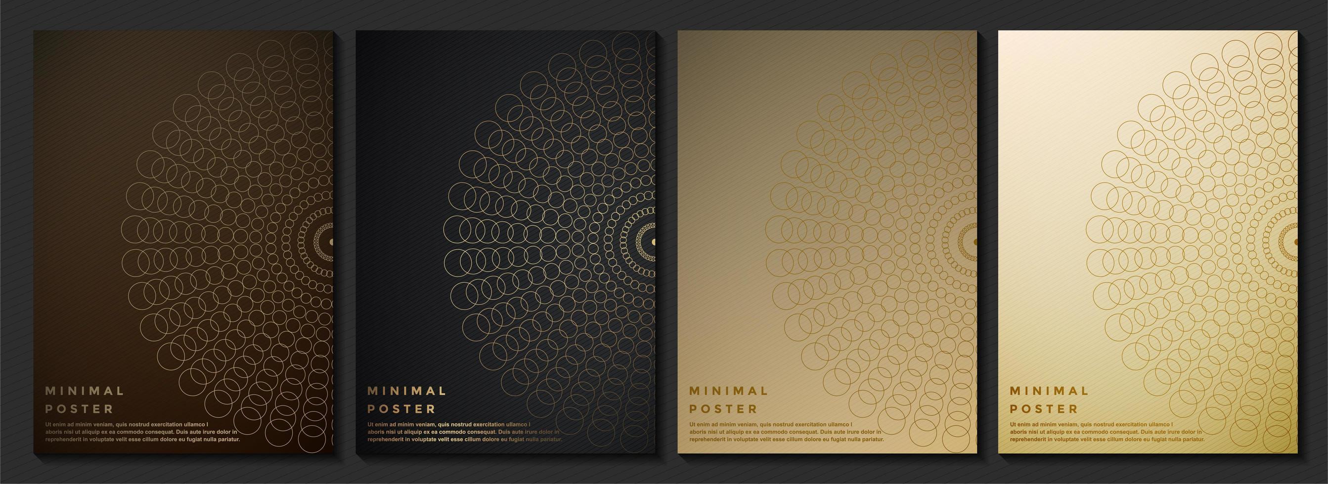 Premium-Cover-Designs vektor