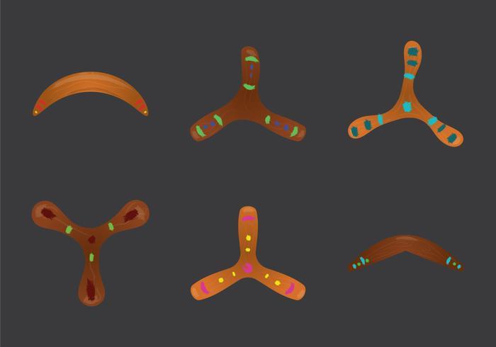Gratis Boomerang Vector Illustration