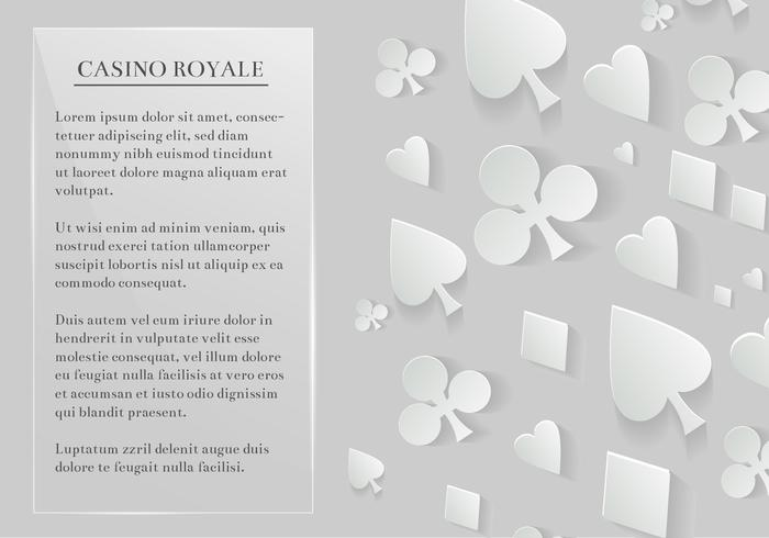 Gratis Vector Playing Cards Elements Background