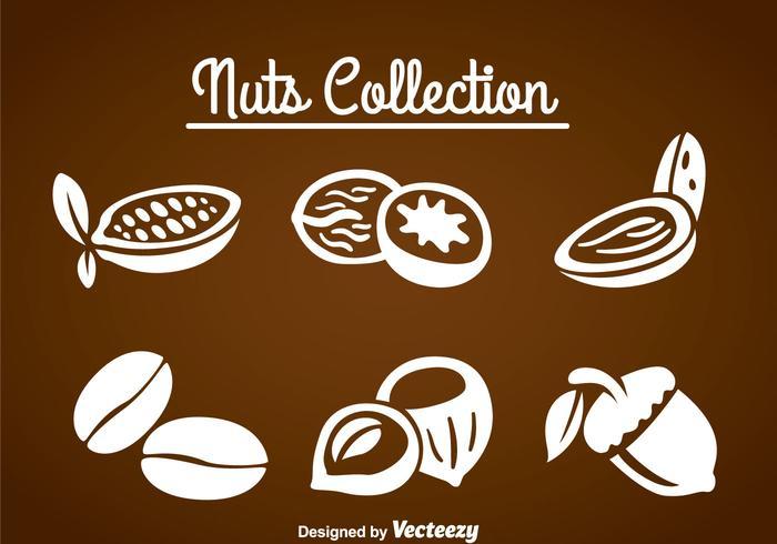 Nuts Sammelsets vektor