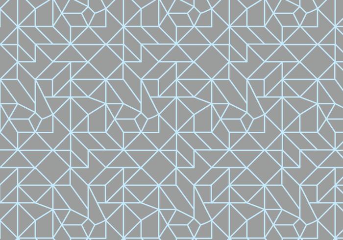 Översikt linjärt mönster vektor