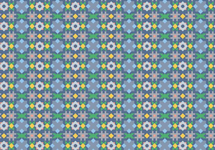 Abstrakt kakelmönster vektor
