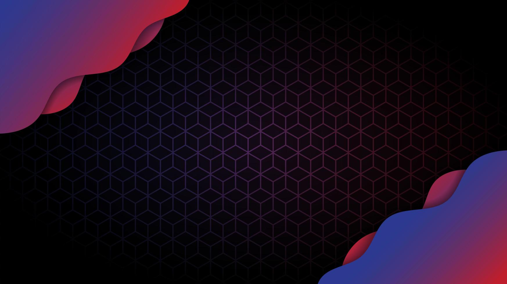 abstrakter Hintergrundgradientenentwurf mit geometrischem vektor