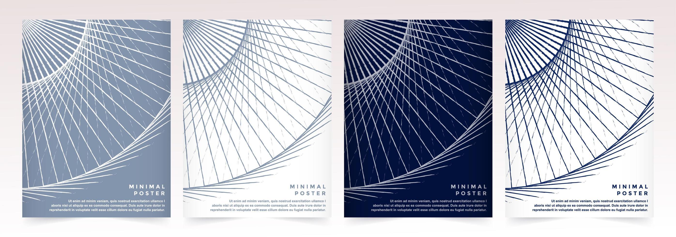 Satz abstrakter minimaler Cover-Vorlagen vektor