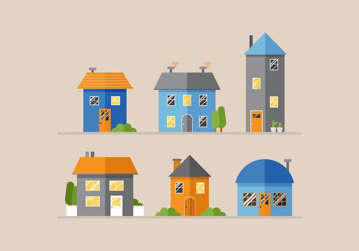 Vector Häuser