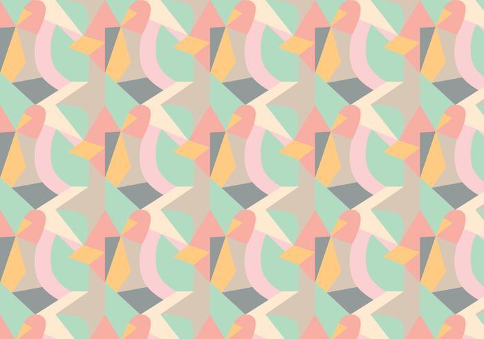 Zufälliges geometrisches Muster vektor