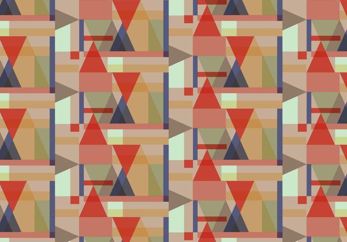 Pastell Geometrisches Muster vektor