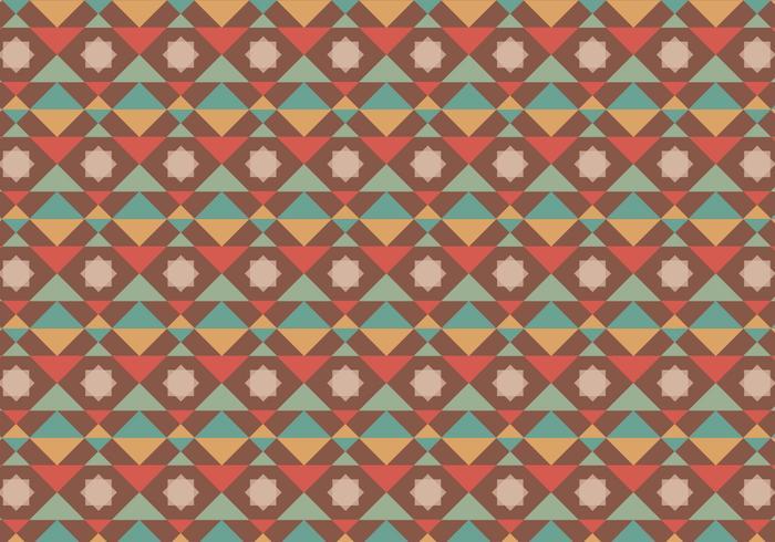Natives traditionelles Muster vektor