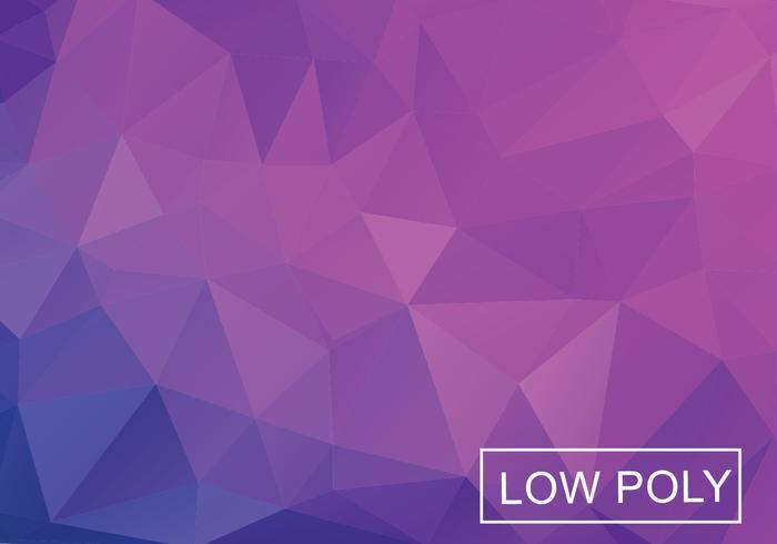 Purple Low Poly Hintergrund vektor