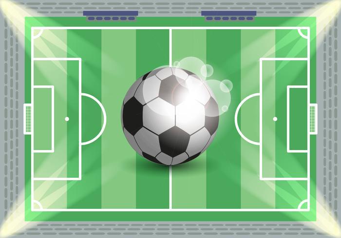 Fußball Fußball Illustration Vektor